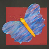 Spring Butterfly Lesson: Clay and Symmetry