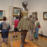 #TBT Art Image – Degas Little Dancer in Boston